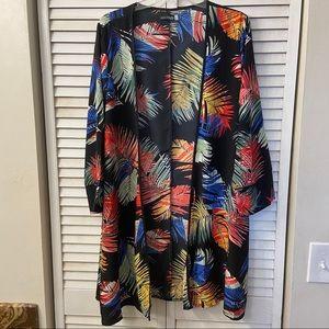 Coco Cabana Resort Kimono Style Wrap Coverup